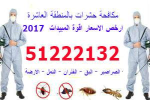 مكافحة الحشرات بالمنطقة العاشرة